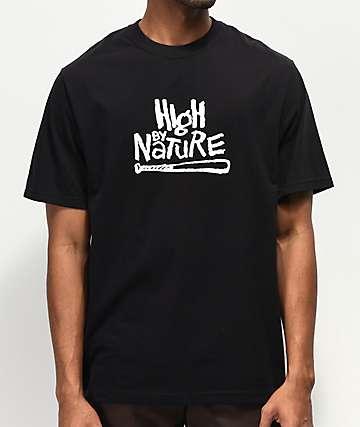 High Company Nature Black T-Shirt