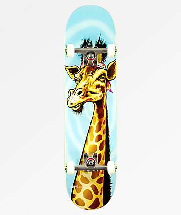 "Holiday Giraffe 8.0"" Skateboard Complete"