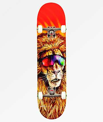 "Holiday Lion 7.75"" Skateboard Complete"