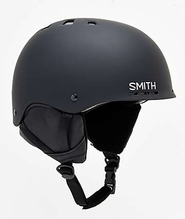 Holt Matte Black Helmet from Smith