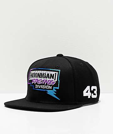 Hoonigan Bolts Black Snapback Hat