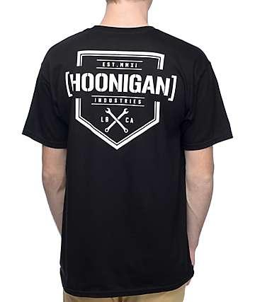 Hoonigan Bracket X camiseta negra