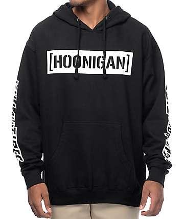 Hoonigan Censor Bar Kill All Tires sudadera negra con capucha