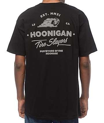 Hoonigan Cheater Slicks Black T-Shirt