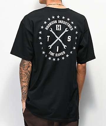 Hoonigan Firing Order Black T-Shirt
