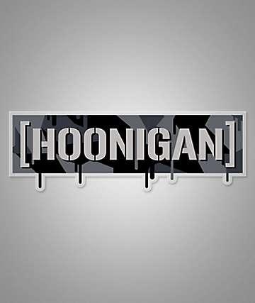 Hoonigan Geo Drip Sticker
