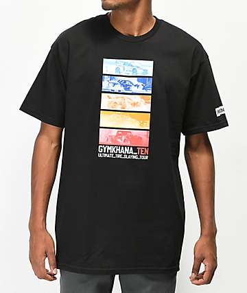 Hoonigan Gymkhana World Tour Black T-Shirt