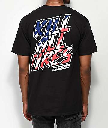 Hoonigan Icon K.A.T. Black T-Shirt