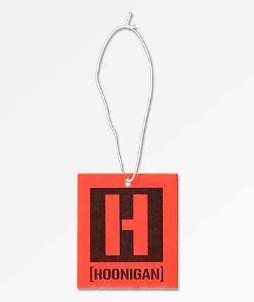Hoonigan Icon ambientador rojo y negro