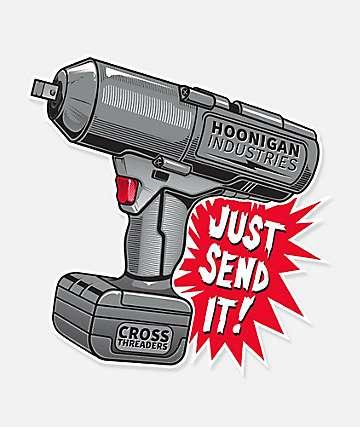 Hoonigan Impact Sticker