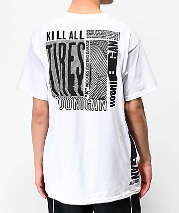 Hoonigan K.A.T. Warp White T-Shirt