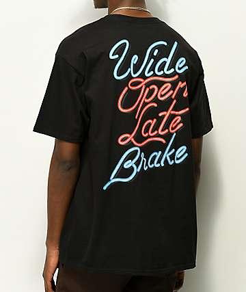 Hoonigan Late Brake Black T-Shirt