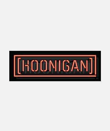 Hoonigan Late Break Sticker