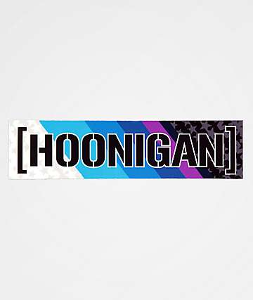Hoonigan Livery 2019 Sticker