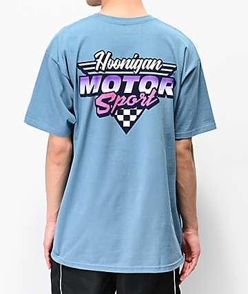 Hoonigan Motorsport Blue T-Shirt