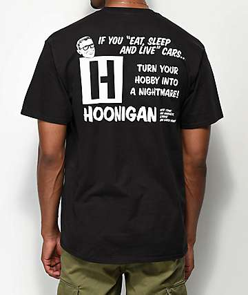Hoonigan Nightmare camiseta negra