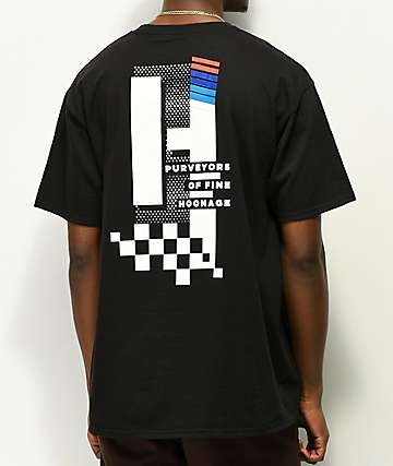 Hoonigan One Step Beyond camiseta negra
