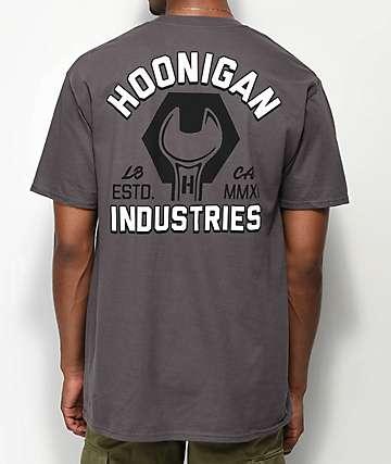 Hoonigan Schneider Charcoal T-Shirt