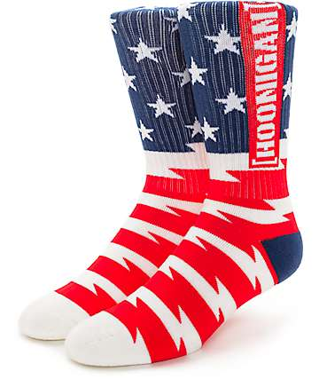 Hoonigan Stars And Stripes calcetines