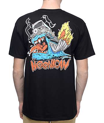 Hoonigan Super Creature Black T-Shirt