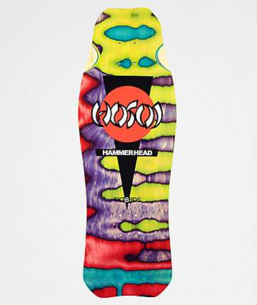 "Hosoi Skateboards O.G. Hammerhead 10.5"" Assorted Swirl Stain Skateboard Deck"