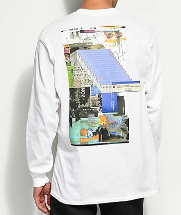 Host Error Beauty & Chaos White Long Sleeve T-Shirt