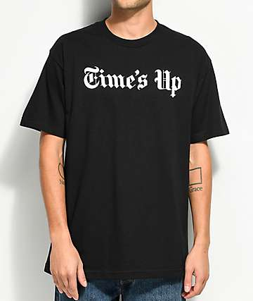 Host Error Times Up Black T-Shirt