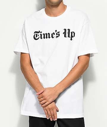 Host Error Times Up White T-Shirt