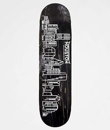 "Houston Stain Skyline 8.25"" Skateboard Deck"