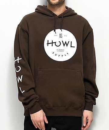 Howl Prime Brown Hoodie