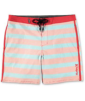 Hurley Beachside Windsor Red & Blue Board Shorts