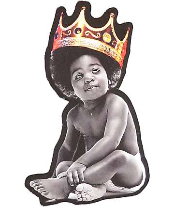 Hynoptize Notorious Baby Crown Sticker