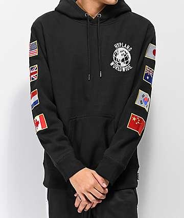 Hypland Flag Black Hoodie