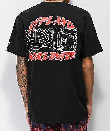 Hypland World Terror Black T-Shirt