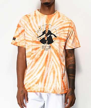 Hypland Worldwide x Bleach Ichigo Orange Tie Dye T-Shirt