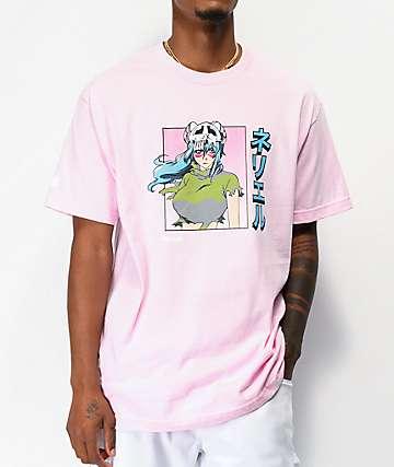 Hypland Worldwide x Bleach Nelliel Pink T-Shirt
