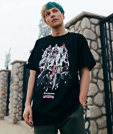 Hypland x Bleach Soul Society Black T-Shirt