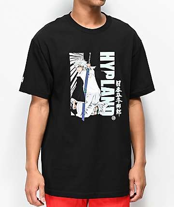Hypland x Bleach Toshiro Black T-Shirt