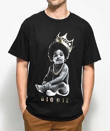Hypnotize Biggie Baby Crown camiseta negra