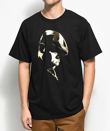 Hypnotize Biggie Gold Shadow Black T-Shirt