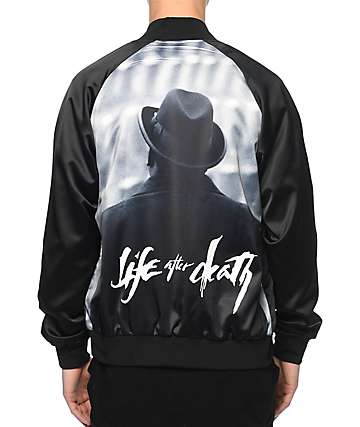 Hypnotize Biggie Life After Death chaqueta negra