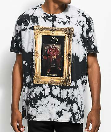 Hypnotize Biggie Portrait camiseta con efecto tie dye