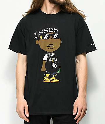 Hypnotize Biggie Smalls Bandana Black T-Shirt