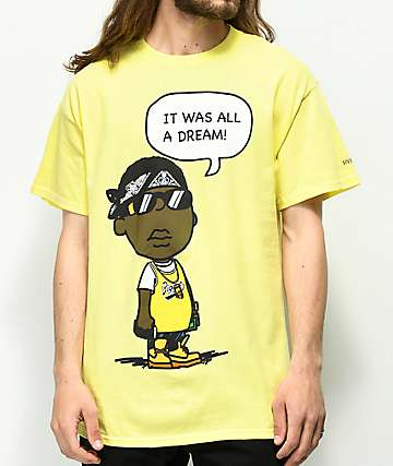 Hypnotize Biggie Smalls Dream Yellow T-Shirt