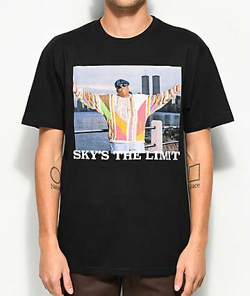 Hypnotize Sky's The Limit camiseta negra