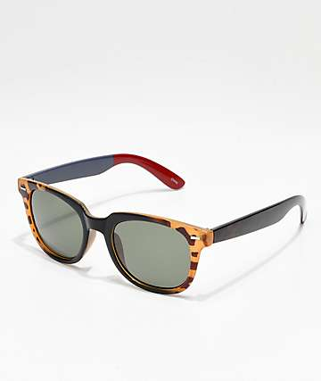 Icon Eyewear Two Tone Black & Tortoise Sunglasses