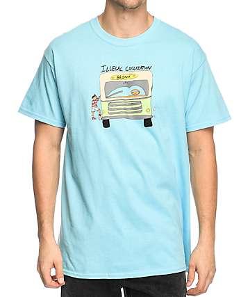 Illegal Civilization Bronx Tales camiseta en azul claro