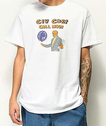 Illegal Civilization Call Now camiseta blanca