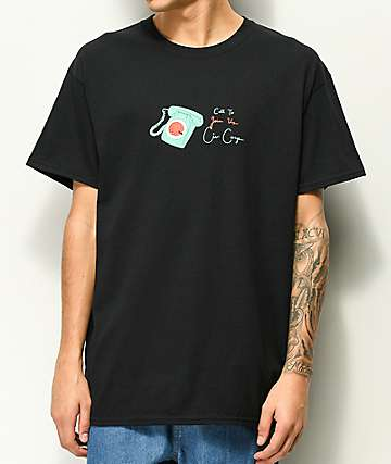 Illegal Civilization Call To Join Black T-Shirt
