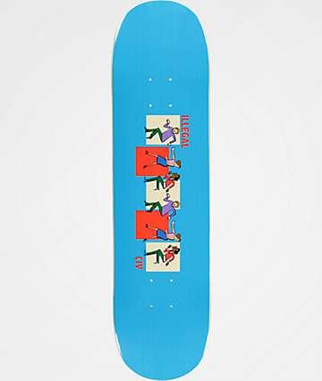 "Illegal Civilization Dance 8.0"" Skateboard Deck"